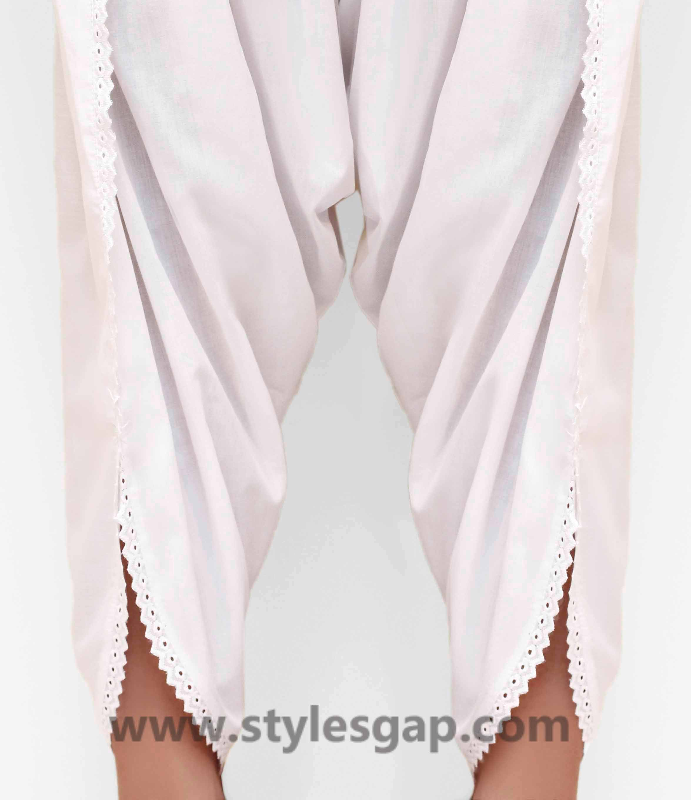 Types & Styles of Tulip Pants Latest Trends 2016 in Pakistan- Laced (5)