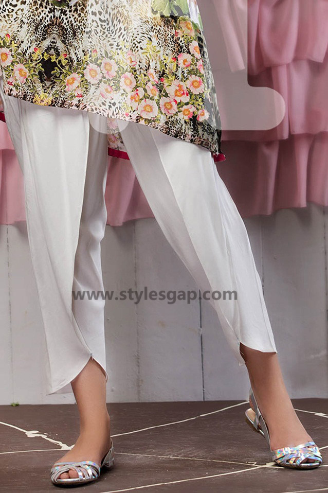 Types & Styles of Tulip Pants Latest Trends 2016 in Pakistan- Simple (2)