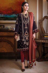 Gul Ahmed Fancy Winter Velvet Dresses & Shawls Collection