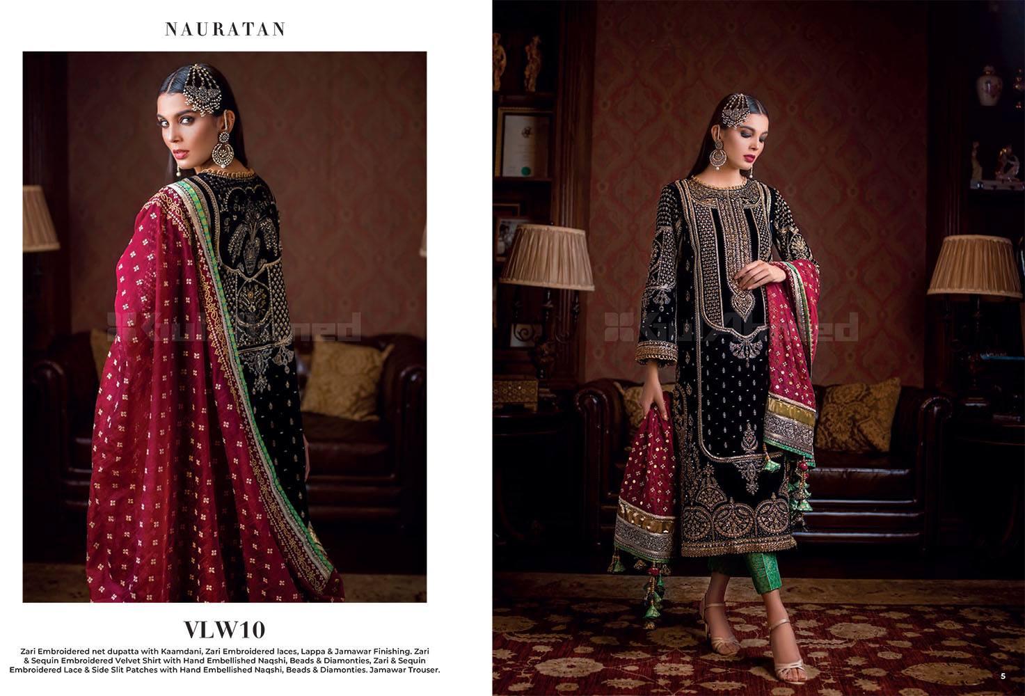 Gul Ahmed Fancy Winter Velvet Dresses Shawls Collection 2020 2021