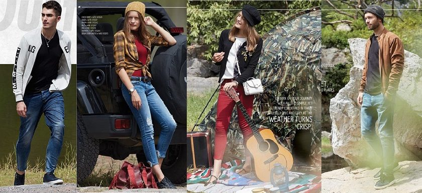 Latest Outfitters Winter Dresses Collection 2017-2018