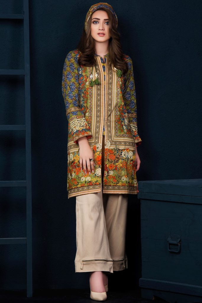 9a5be77fd33 Kayseria Best Winter Dresses Collection 2017-18 Pret, Fabric & Ladli ...