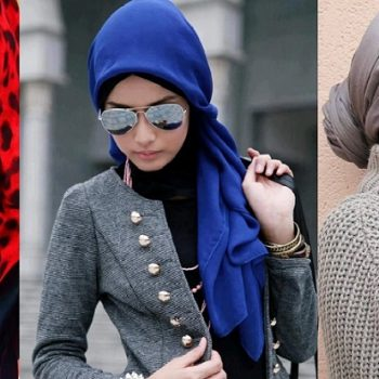 Top Winter Hijab Styles with Tutorials 2019-20 Stay Warm & Stylish
