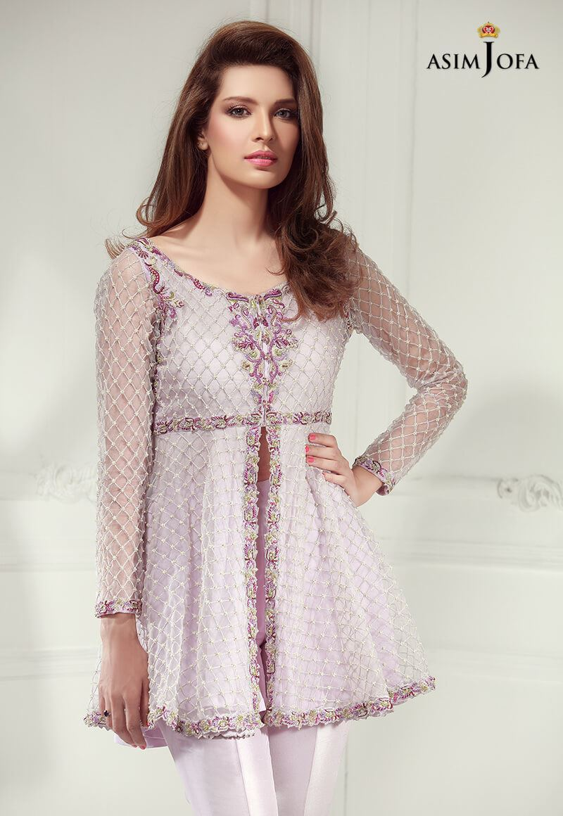 Asim Jofa Luxury Pret Formal Wear Dresses Designs 2018-19 ...