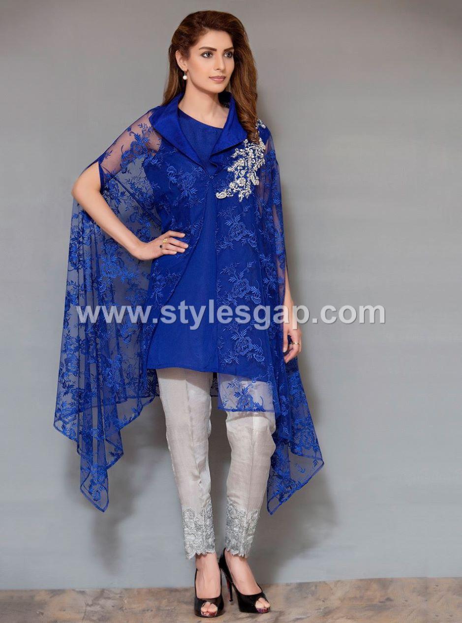 Royal Blue Maternity Dress