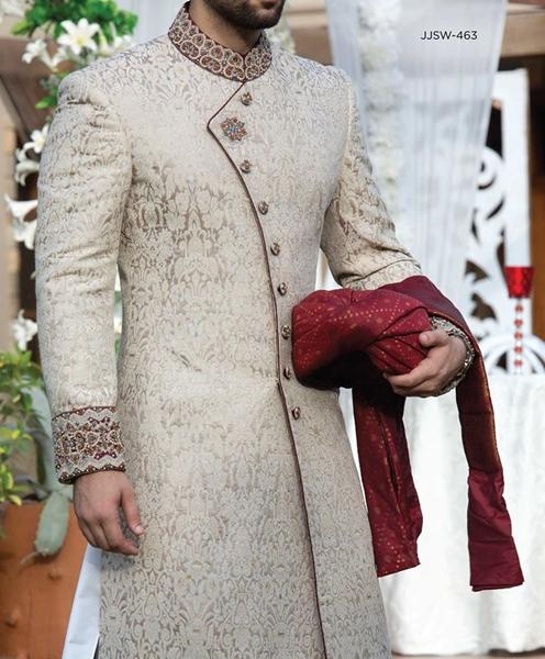 Men Hairstyle Bridal: Latest Mens Wedding Sherwani Trends 2018 By Top Pakistani