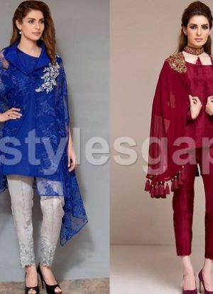 latest-pakistani-cape-style-dresses-designs-trends-2017