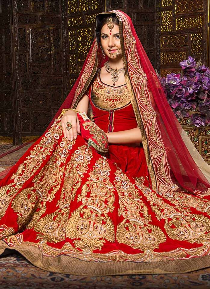 Rocky S- Top 10 Popular & Best Indian Bridal Dresses Designers- Hit List (2)