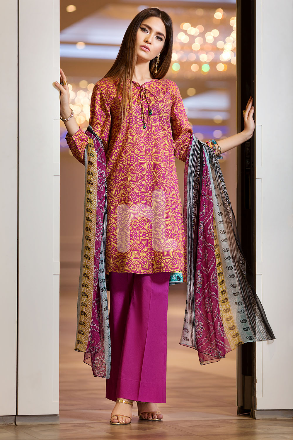 a1d441b37da 3 Piece Printed   Embroidered Lawn Suits 2018 by Nishat Linen (6 ...