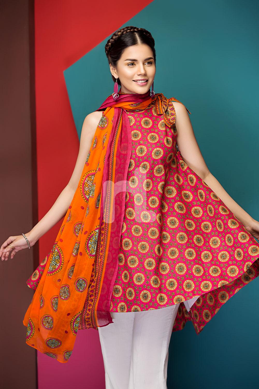 2018 Summer Dresses: Nishan Linen Spring Summer Collection 2018- Best Lawn