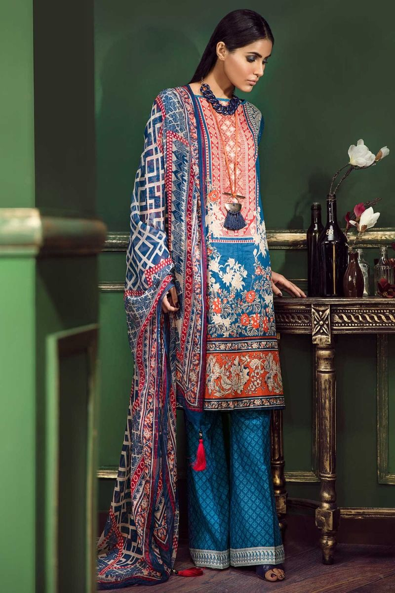 5ece3b958d Khaadi Latest Summer Lawn Dresses Designs Collection 2018-2019 ...