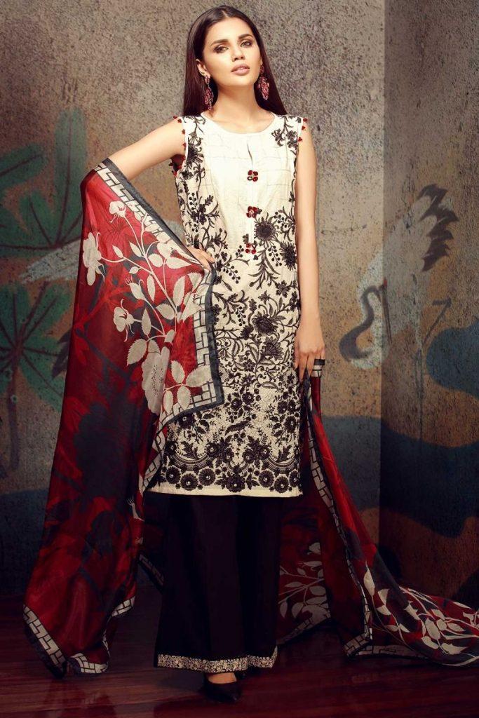 Embriodered Khaadi Latest Summer Lawn Dresses Designs ...