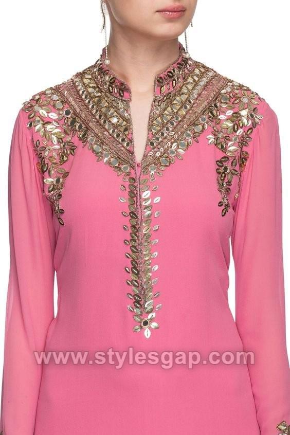 Ladies suit neck design catalogue