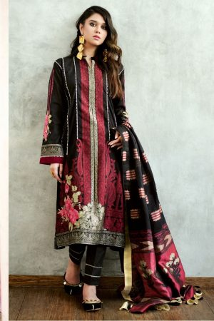 Gul Ahmed Summer Formal Dresses Jacquard & Chiffon Collection
