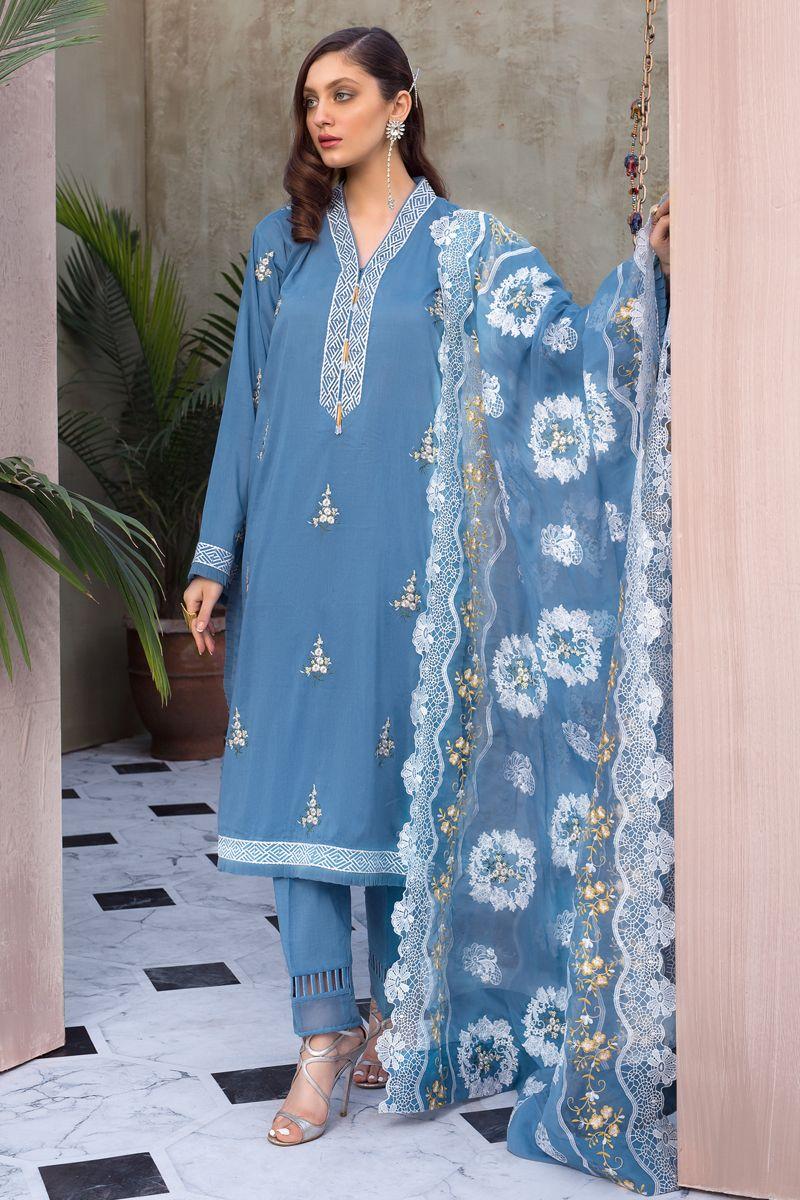 Gul Ahmed Summer Formal Dresses Jacquard Chiffon