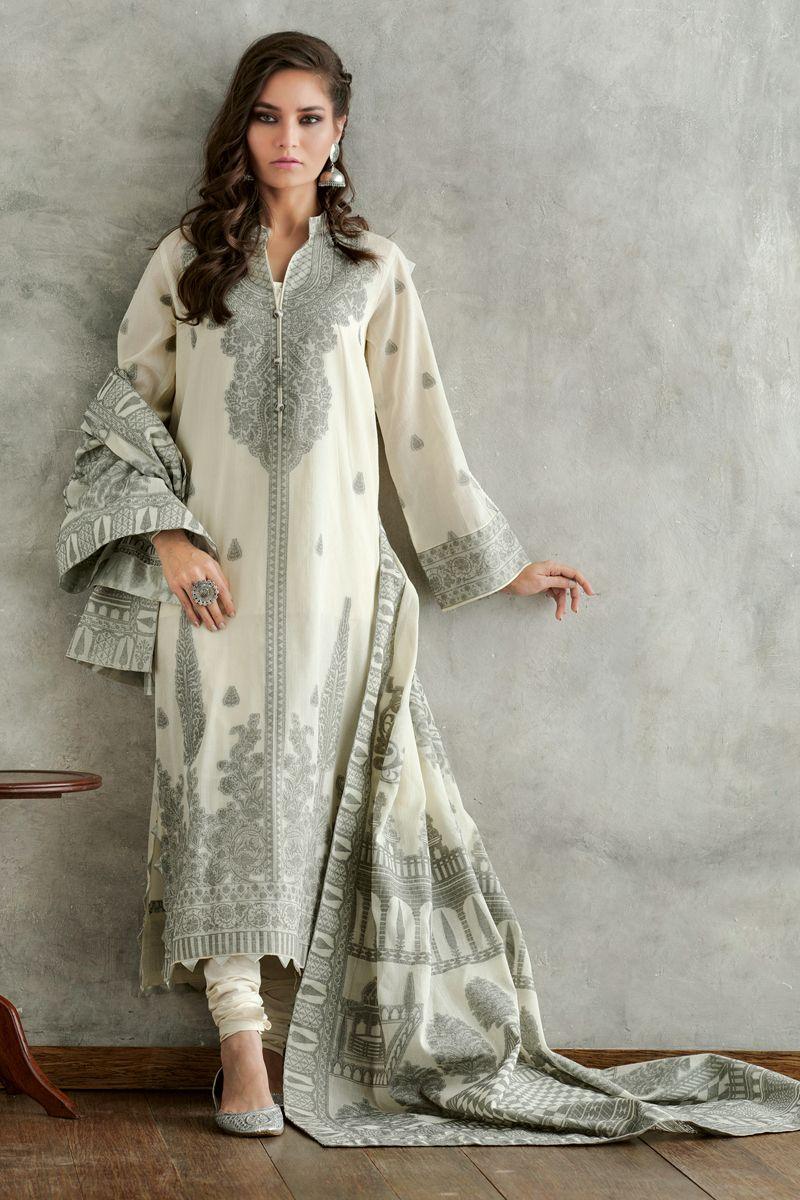 Gul Ahmed Summer Formal Dresses Jacquard Suits