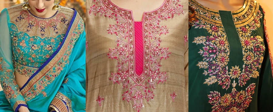 Latest Neckline-Gala Designs & Types 2019-2020 Collection