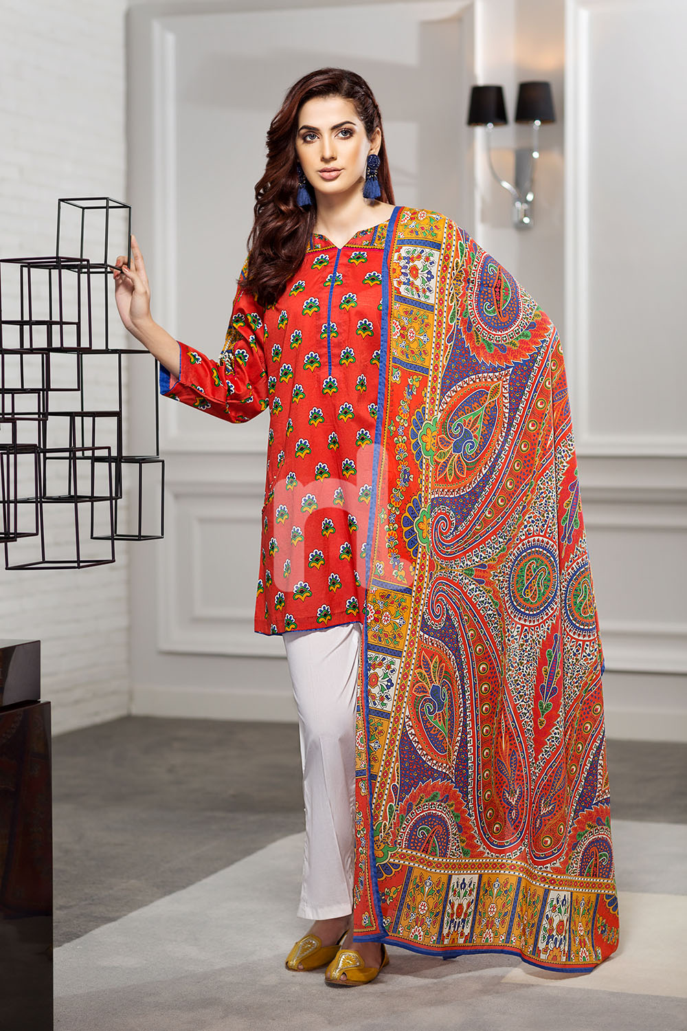 591e4c51e9 Nisha by Nishat Linen Summer Spring Best Lawn Dresses Collection 2018-19
