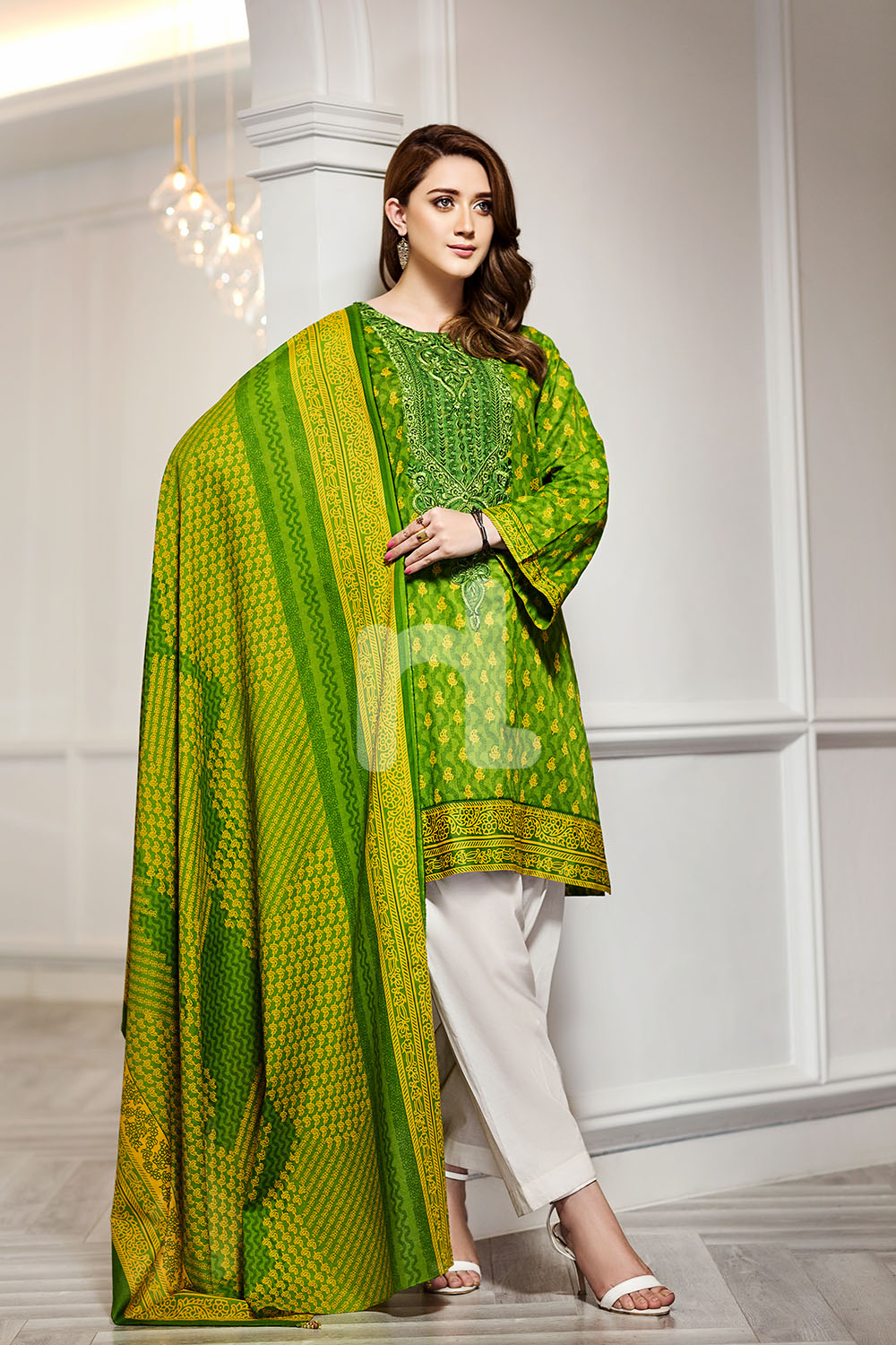 Nishan Linen Spring Summer Collection 2018 Best Lawn