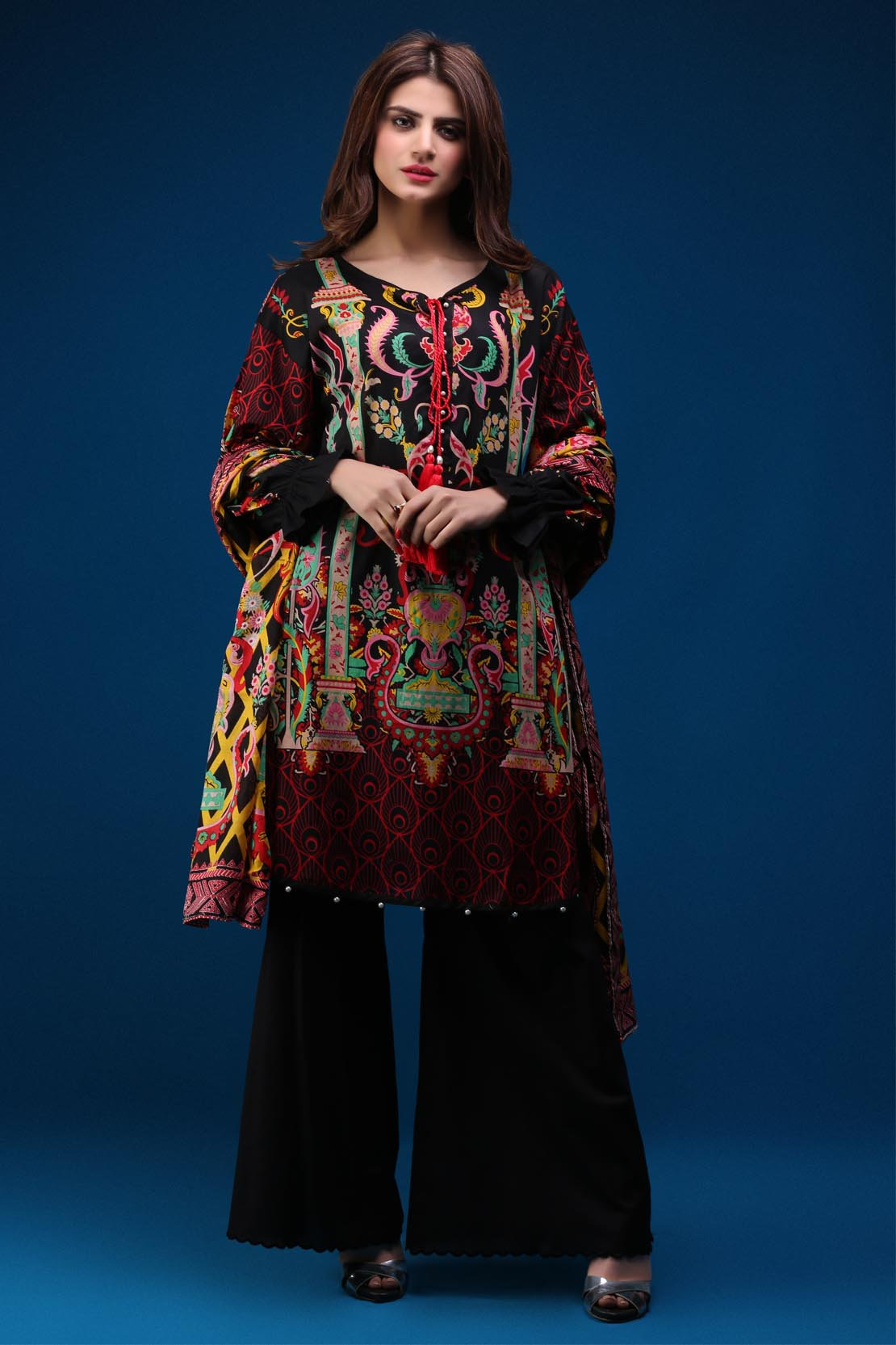 a445c226aff Warda Latest Summer Dresses Printed  u0026 Embroidered Collection 2018