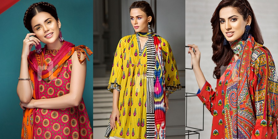 Nishat Linen Spring Summer Collection 2018- Best Lawn Suits Dresses ... 4b296d20842