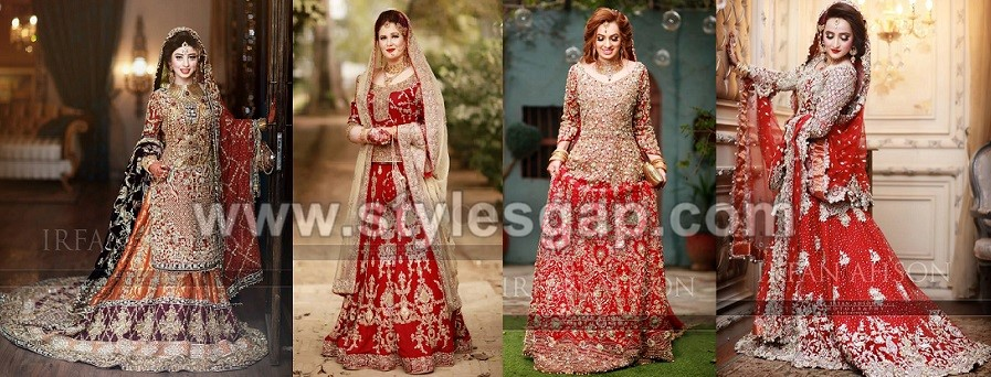 Pakistani Bridal Lehenga Dresses Designs Styles