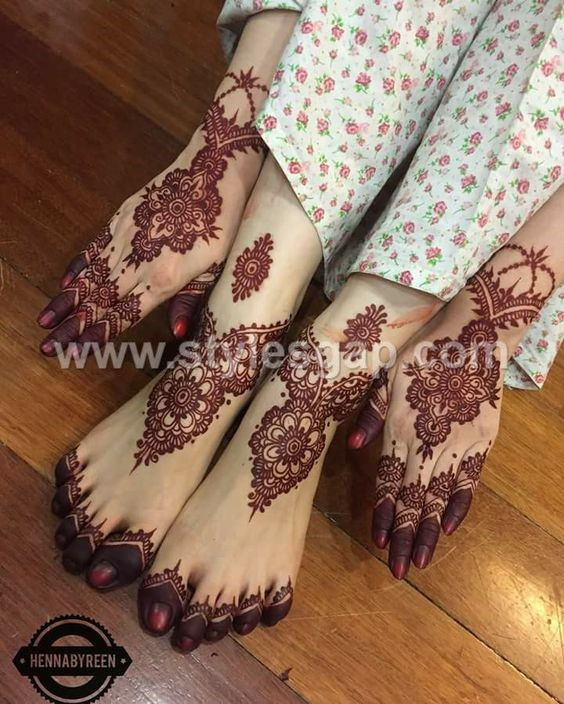 Pakistani Amp Indian Eid Mehndi Designs Collection 2018 2019