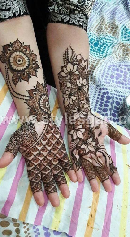 Pakistani Indian Eid Mehndi Designs Collection 2020 2021