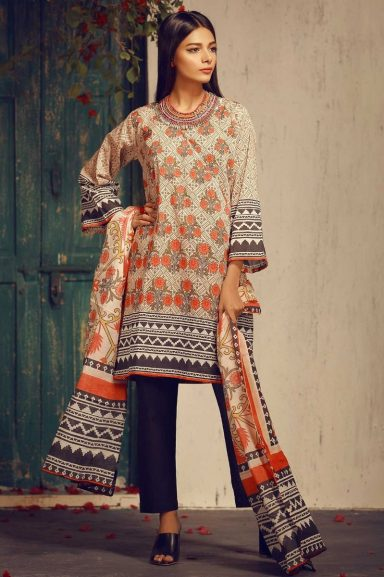 Khaadi Latest Summer Lawn Dresses Designs Collection 2018 2019
