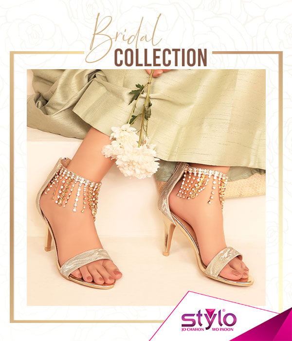 Bridal Shoes Stylo: Stylo Fancy Bridal Shoes Wedding Collection Latest 2019