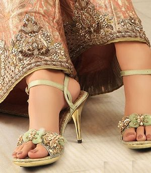 Stylo Fancy Bridal Shoes Wedding Latest Collection