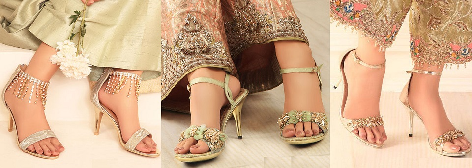 Stylo Fancy Bridal Shoes Latest Wedding Collection 2021-22