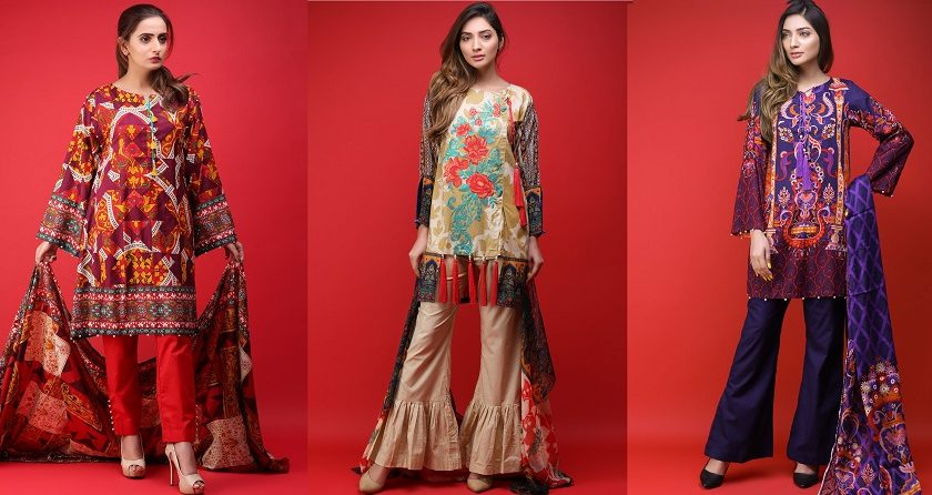 Warda Latest Summer Lawn Dresses Collection 2018-2019
