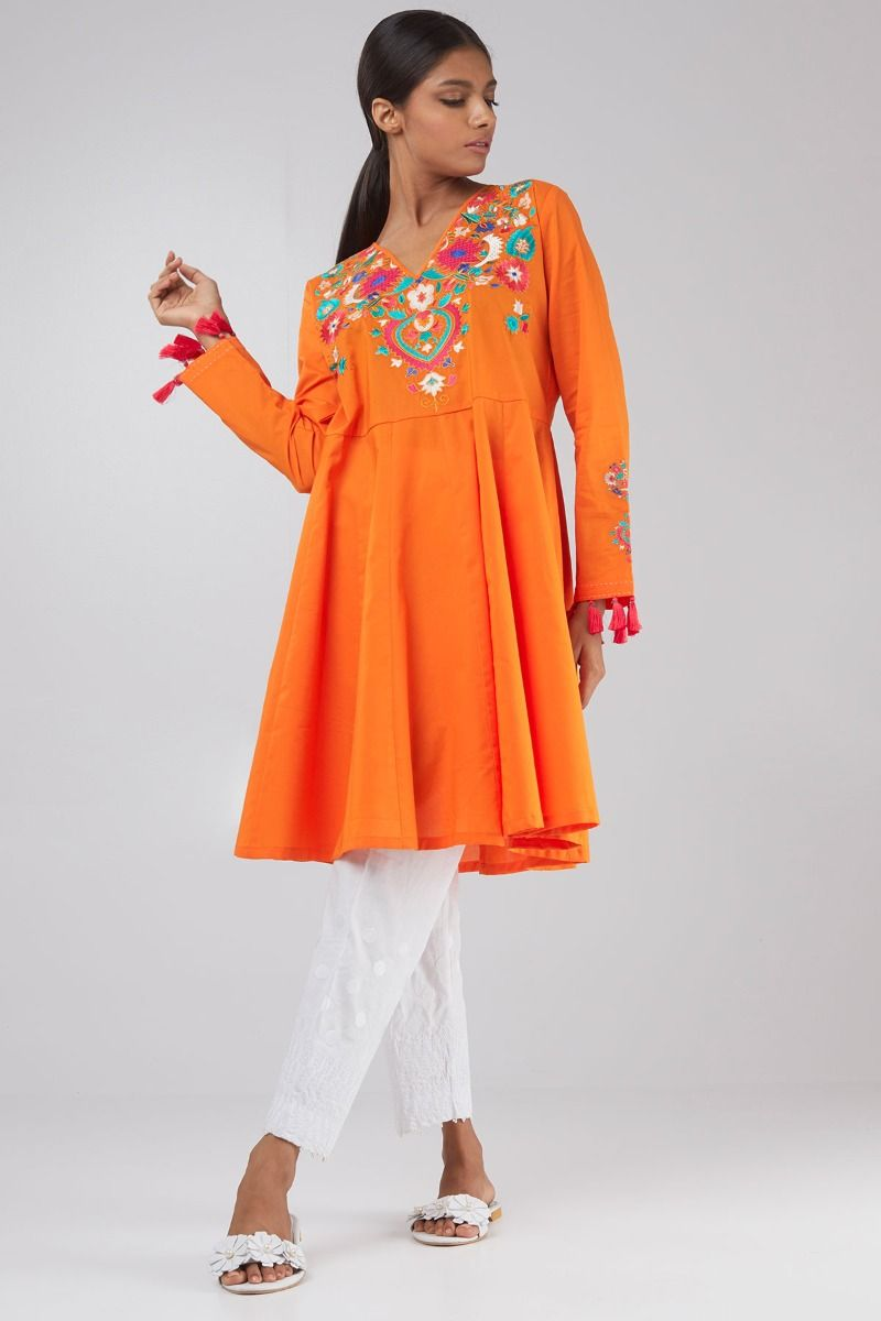 e72192439b3 Khaadi Stylish Summer Kurtas   Dresses Pret Spring Collection 2018 ...
