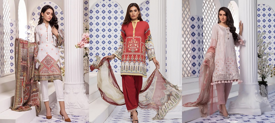Khas Premium Designer Lawn Dresses Summer Collection 2019-2020