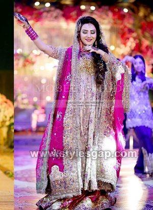 Latest Bridal Mehndi Dresses Designs 2019-2020
