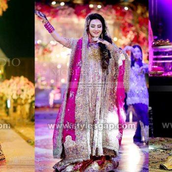 Latest Bridal Mehndi Dresses Designs Fashion 2021 Collection