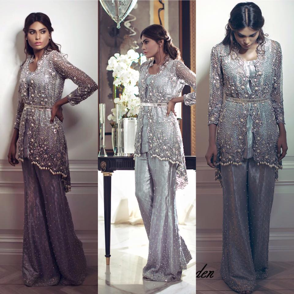 0e6b6e4122 Latest Pakistani Short Frocks Peplum Tops Styles & Designs 2019-2020