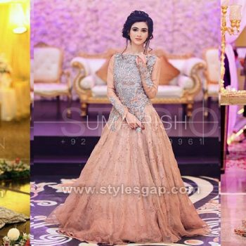 Latest Party Wedding Wear Frocks Designs Collection 2021