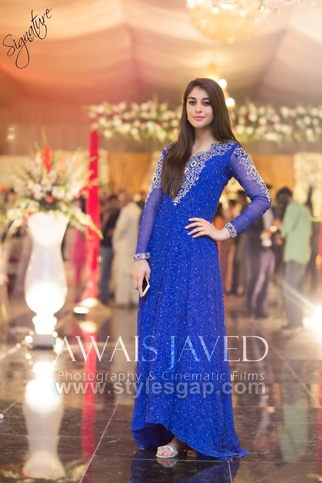bcd635e614 Fancily embroidered frock collection is specially designed for the wedding  seasons where each event demands a different attire based on its  distinctive ...