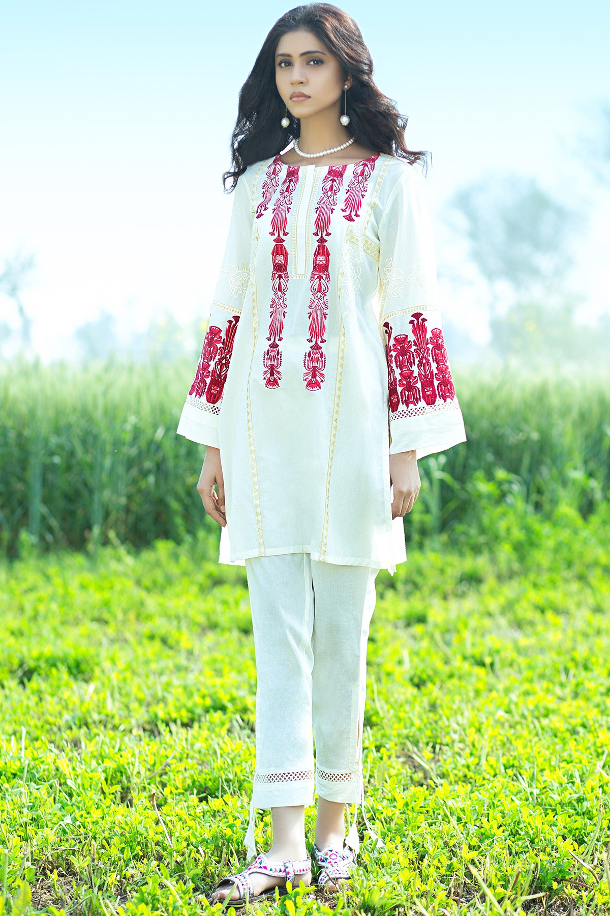 Latest Summer Kurti Designs u0026 Tops by Origins Spring Collection 2018-19
