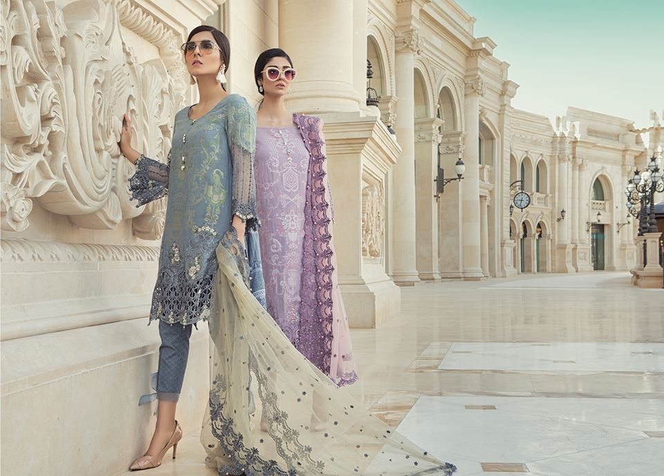 maria b lawn collection 2018 best pakistani designer