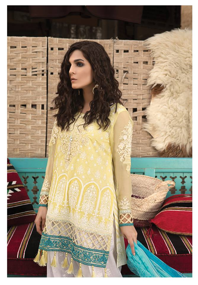 964dc551c1 Maria B Lawn Collection 2018-2019 Best Pakistani Designer Summer Dresses  (22)