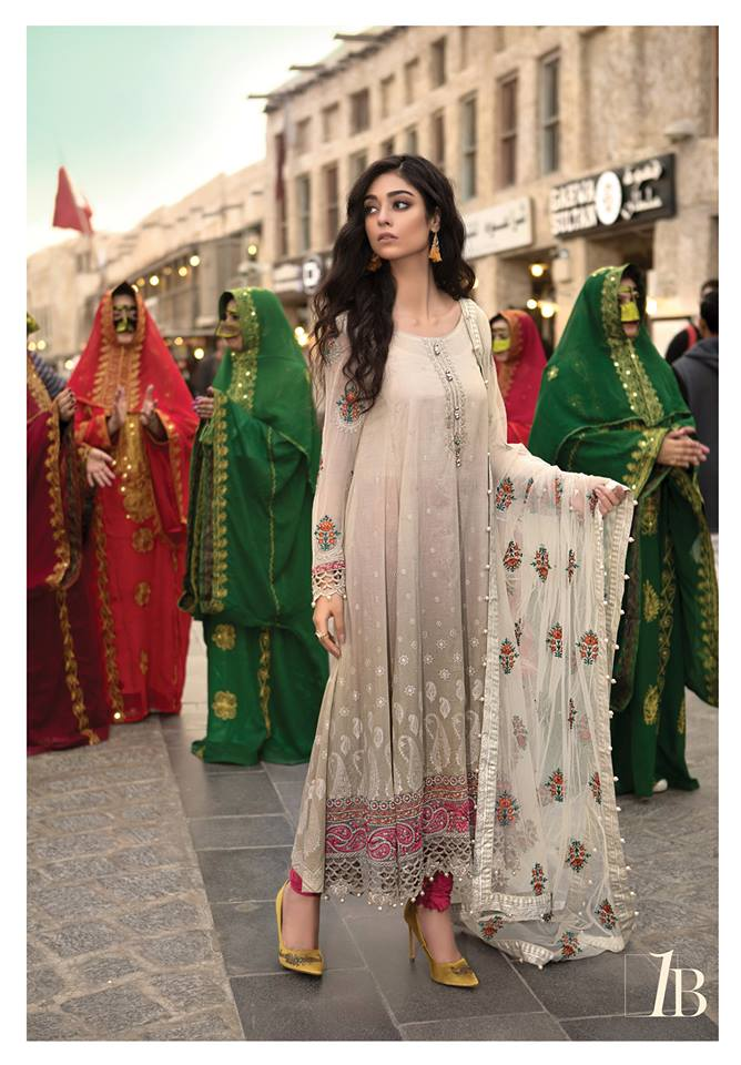 4881a86019 This Maria b lawn dresses collection also seems to be having the epic  collection of lawn chiffon and net dresses. The apparels are specifically  designed for ...