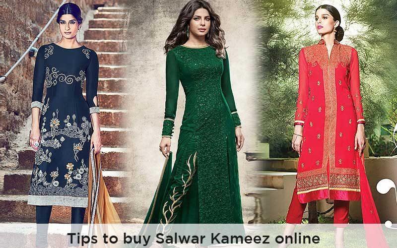 Quick tips to buy salwar kameez online