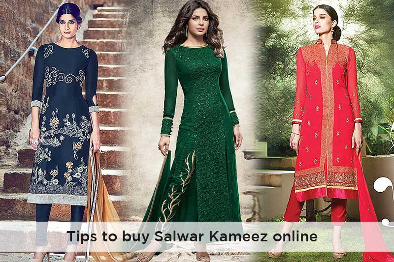 Quick tips to buy salwar kameez online