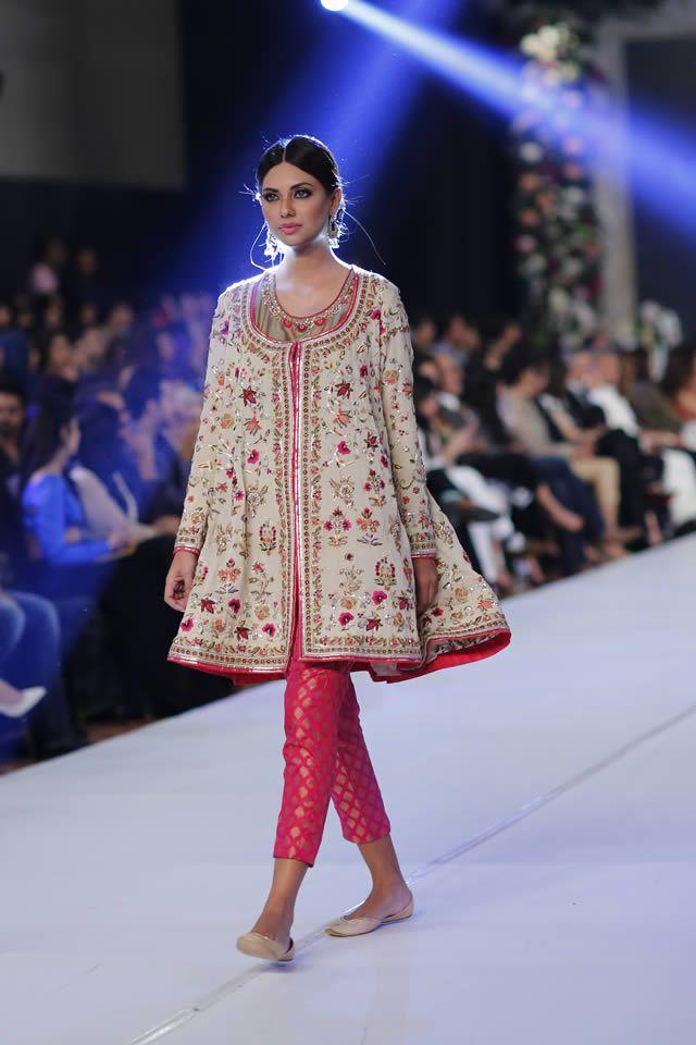 Latest Pakistani Short Frocks Peplum Tops Styles Designs 2018 2019
