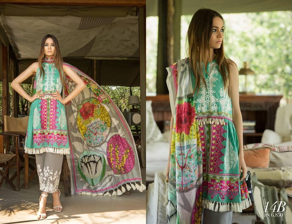 Sana Safinaz Best Summer Lawn Dresses Latest Collection ...