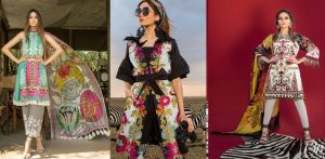 Sana Safinaz Best Summer Lawn Dresses Latest Collection 2018-2019