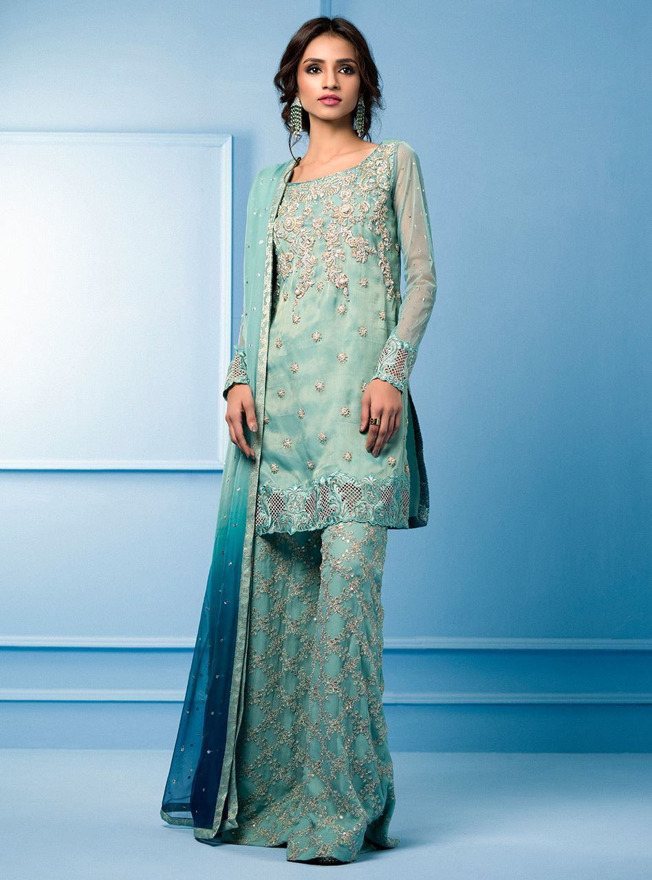 Zainab Chottani Luxury Pret Formal Dresses 2018-2019 Collection